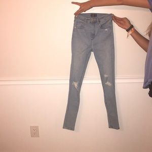 Abercrombie & Fitch Jeans - Abercrombie & Fitch Simone high rise super skinny